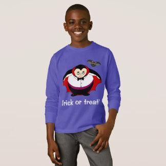 Niedlicher Spaß-Cartoon einer Halloween-Zählung T-Shirt