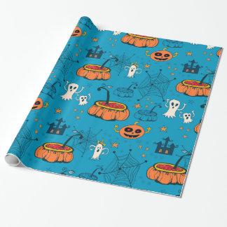 Niedlicher Spaß Kind-Freundliches Halloween Geschenkpapier
