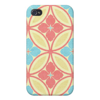 Niedlicher Strand girly iPhone Mit Blumenfall iPhone 4 Case
