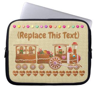 Niedlicher Süßigkeit-Besprühter Laptop Sleeve