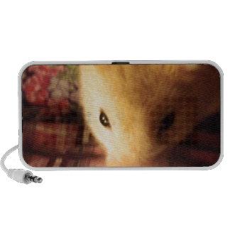 Niedlicher syrischer Hamster Notebook Speaker