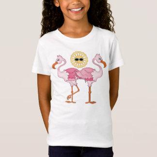 Niedlicher T - Shirt Strand-der rosa