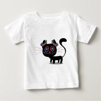Niedlicher Tag der toten Katze Baby T-shirt