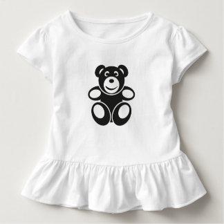 Niedlicher Teddy mit einem Lächeln Kleinkind T-shirt
