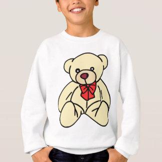 Niedlicher Teddybär in Weiche Tan Sweatshirt