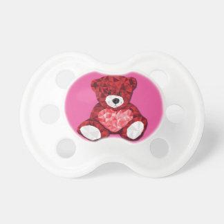 Niedlicher Teddybär Schnuller