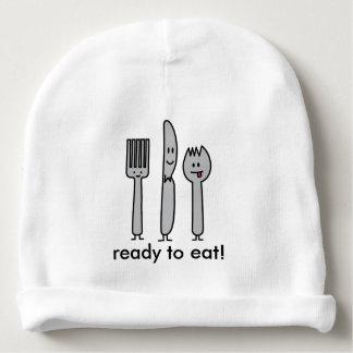 Niedlicher Tischbesteck-Gerät-Gabel-Messer Spork Babymütze