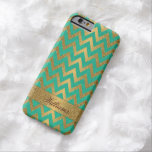 Niedlicher trendy Zickzack Barely There iPhone 6 Hülle