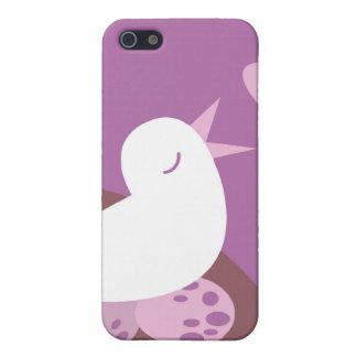 Niedlicher Tweeter-Liebevogel Hülle Fürs iPhone 5
