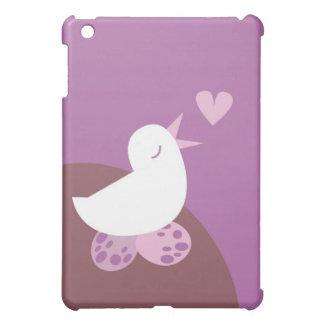 Niedlicher Tweeter-Liebevogel iPad Mini Cover