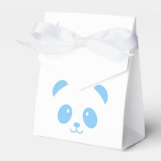 Niedlicher und Cuddly blauer Geschenkschachtel