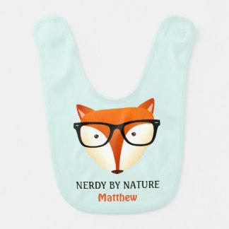 Niedlicher und lustiger NerdFox Babylätzchen