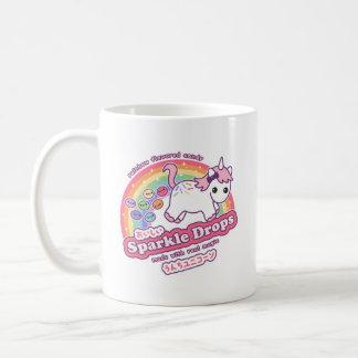 Niedlicher Unicorn kacken Süßigkeit Kaffeetasse