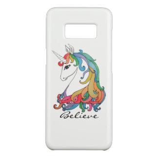 Niedlicher Unicorn Regenbogen des Watercolor Case-Mate Samsung Galaxy S8 Hülle