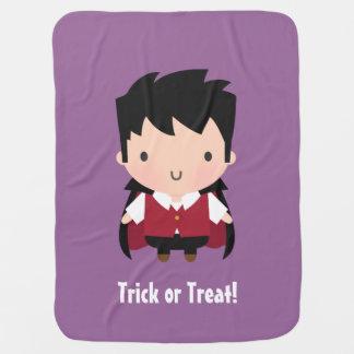 Niedlicher Vampire-Junge, Baby Halloween Puckdecke