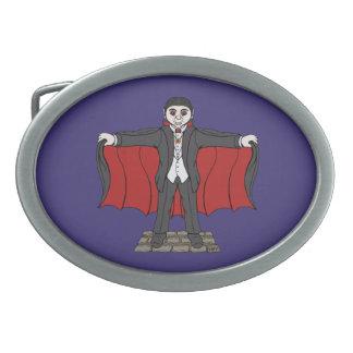 Niedlicher Vampire Ovale Gürtelschnallen
