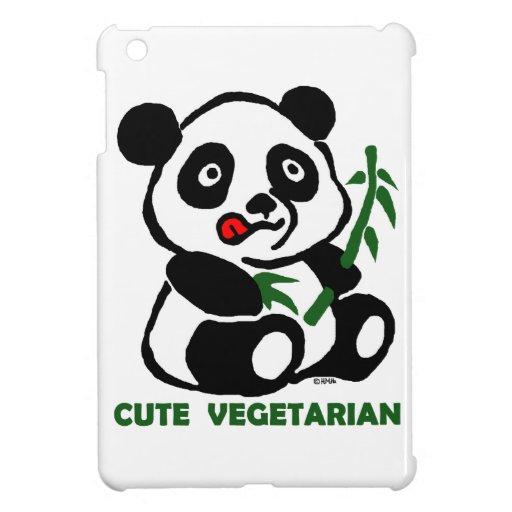 niedlicher Vegetarier iPad Mini Cover