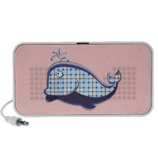 Niedlicher Wal iPod Lautsprecher