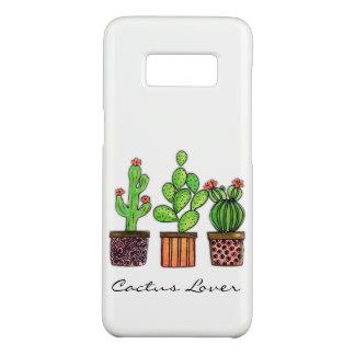 Niedlicher Watercolor-Kaktus in den Töpfen Case-Mate Samsung Galaxy S8 Hülle