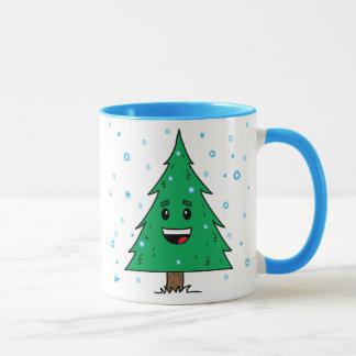 Niedlicher Weihnachtsbaum - Tasse