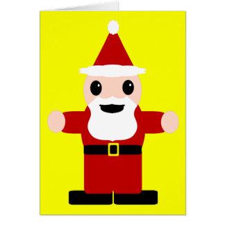 Niedlicher Weihnachtsmann Karte