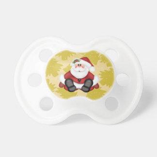 Niedlicher Weihnachtsmann-Schnuller für Schnuller