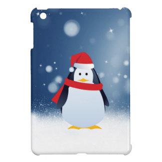 Niedlicher Weihnachtsmannmütze-Weihnachtsschnee iPad Mini Hülle