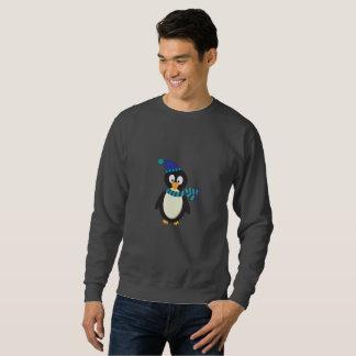 Niedlicher Weihnachtspenguin Sweatshirt