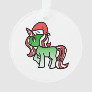 Niedlicher WeihnachtsUnicorn Ornament