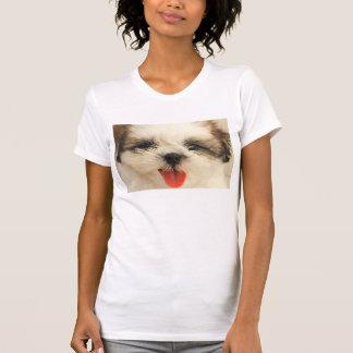 Niedlicher Welpe Shih Tzu T-Shirt