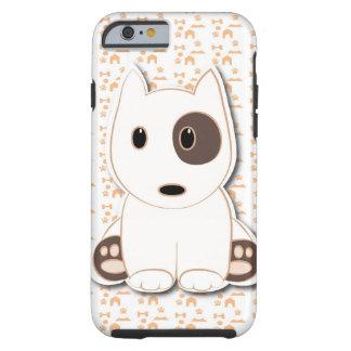 Niedlicher Welpe Stier-Terriers Tough iPhone 6 Hülle
