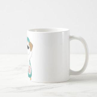 Niedlicher Welpen-Feiertag Kaffeetasse