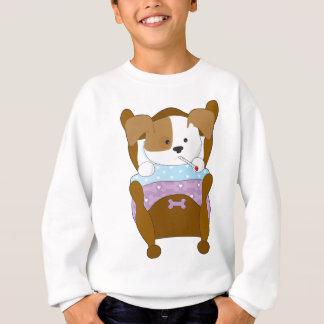 Niedlicher Welpen-Kranker Sweatshirt
