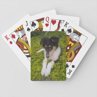 Niedlicher Welpen-Spielkarten Spielkarten
