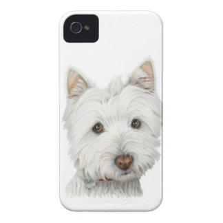 Niedlicher Westie iPhone 4 Case-Mate Hüllen