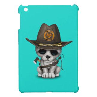 Niedlicher Wolf-CUB-Zombie-Jäger iPad Mini Hülle