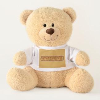 Niedlicher Wyoming-Logoteddy-Bär Teddy
