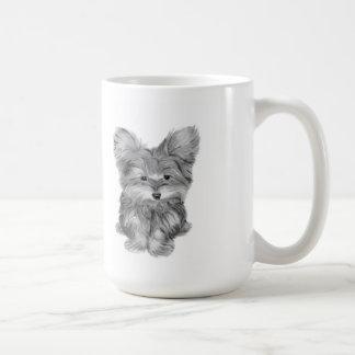 Niedlicher Yorkie Hund Kaffeetasse