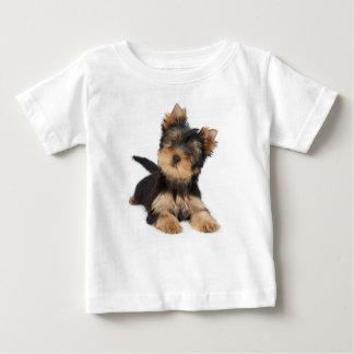 Niedlicher yorkie Welpe Baby T-shirt