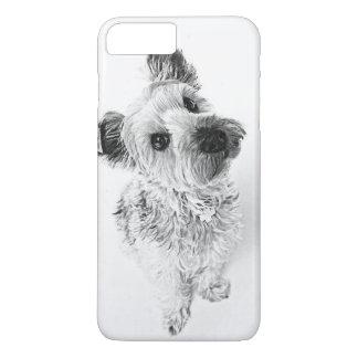 Niedlicher Yorkie Yorkshire Terrier-Welpe iPhone 8 Plus/7 Plus Hülle