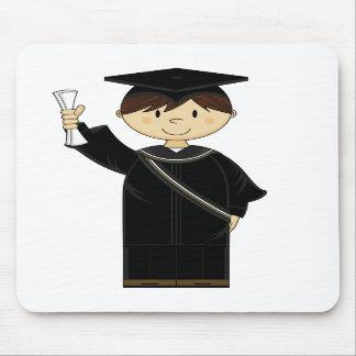 Niedliches Abschluss-Kind Mousepad