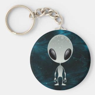 Niedliches alien schlüsselanhänger