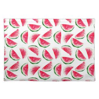 Niedliches Ananas-u. Wassermelone-Muster Tischset