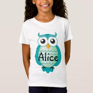Niedliches Aqua-kluge Eule | cool T-Shirt