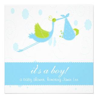 Niedliches Baby-Blau es ist ein Junge Individuelle Ankündigungen