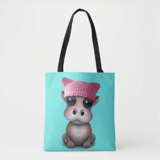 Niedliches Baby-Flusspferdtragender Pussy-Hut Tasche