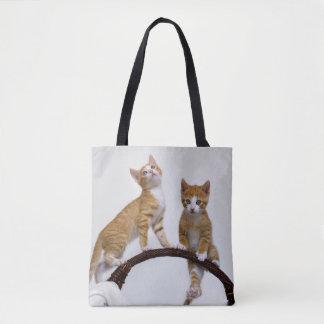 Niedliches Baby-Katzen-Kätzchen-lustiges Tasche