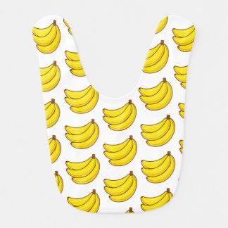 Niedliches Bananen-Muster Lätzchen