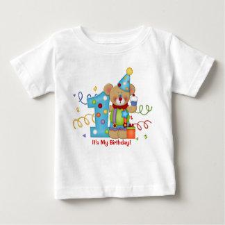 Niedliches Bärn-Geburtstags-T - Shirt-Alter 1 Baby T-shirt
