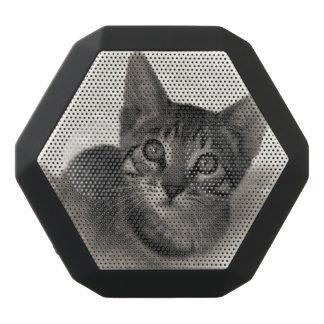 Niedliches bengalisches Kätzchen Schwarze Bluetooth Lautsprecher